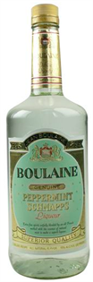 Boulaine Schnapps Peppermint 1.00l - Case of 12